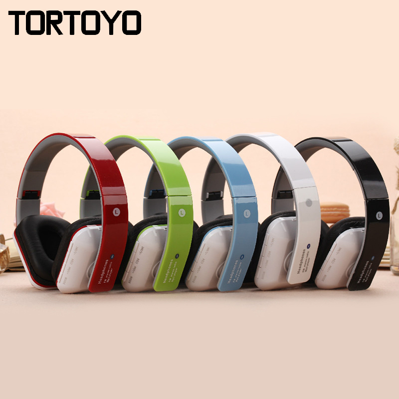 JKR-202B Fashion Portable Foldable Stereo Wireless Bluetooth Headset Headphone with Mic FM Radio TF Card Slot for Smart Phone PC high quality portable wireless bluetooth stereo foldable headphone with built in mic speaker for music