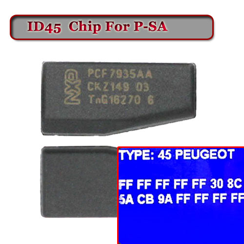ID 45 Crypto Transponder Chip For Peugeo