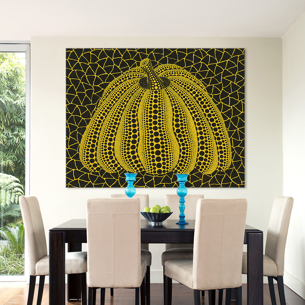 HDARTISAN Canvas Art Wall Pictures For Living Room Kusama Yayoi ...