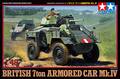 Tamiya scale model 1/48   UK 7 tank model Mk.IV four armored vehicles 32587 tons