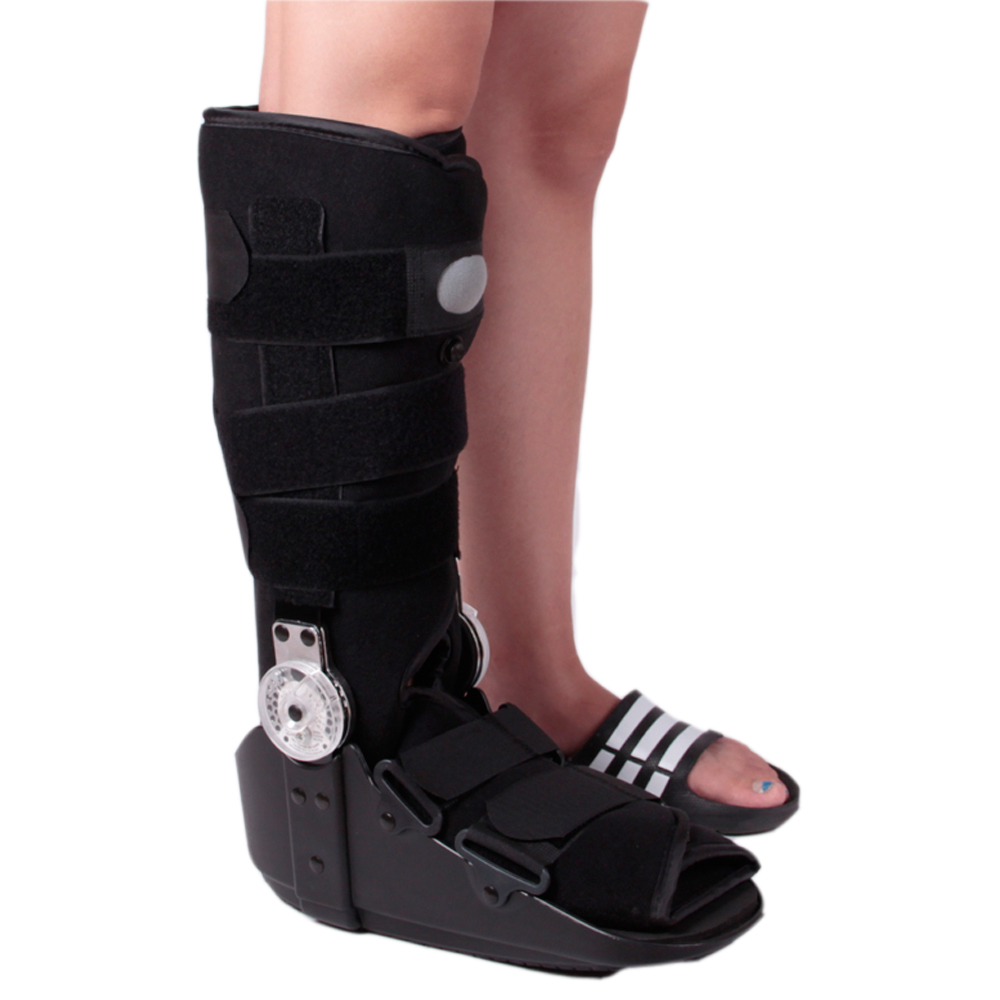ROM Fixed Walker 17 Inch Height For Grade I/II Ankle Sprain Ligament Tears Walking Boots Brace On Or After Torn Ligament Surgery tears for fears tears for fears the hurting