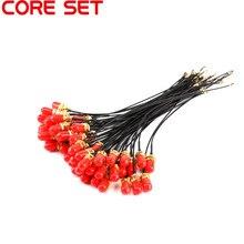 50 unids/lote 15cm SMA Cable de extensión Conector recto a uFL/u.FL/IPX/IPEX conector hembra antena Pigtail Cable de Cable en espiral de RF 1,13mm