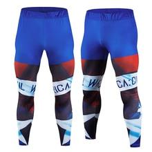 Mens Fitness Tights Jogging Pants Compression Bodybuilding Pantyhose Leggings MMA Pantalon Men