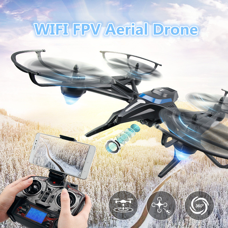 JJRC-H50 2.4G 4CH 6-Axis WIFI FPV RC Drone with HD WiFi Camera Real-time Sharing RC Quadcopter with attitude hold toy VS x8g x5c professional camera drone x500 2 4g 4ch fpv rc quadcopter with camera hd 2mp wifi fpv helicopter with camera hd vs x8g qr x350