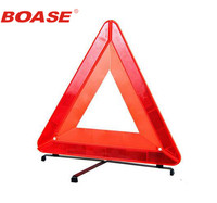 Folding Auto Car Warning Triangles Car Reflective Emergency Tripod Parking Warning Supplies For Tripod Fault Red