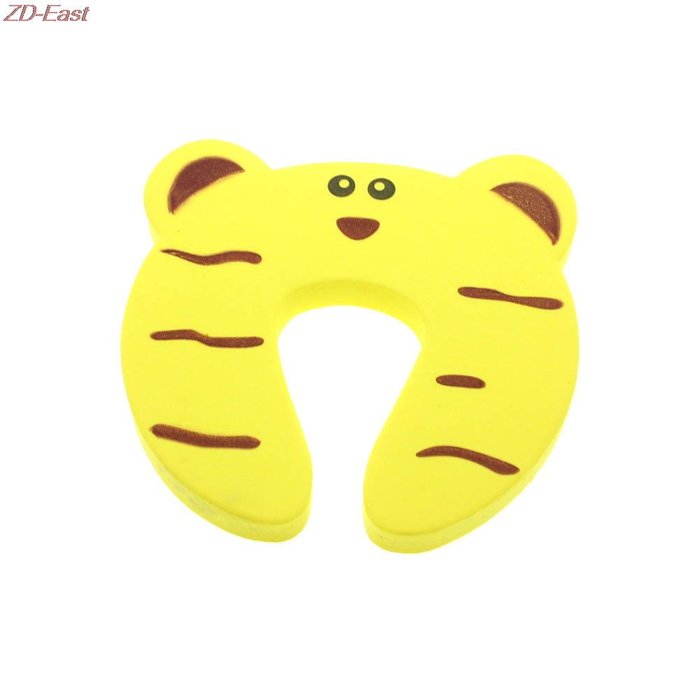 10pcs CUTE Door Stopper Jammer Anti Finger Pinch Lock Kids Safety Guard Protector