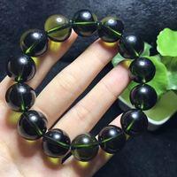 Quality Goods Crystal Czekh Meteorite Ball Bracelet Hand String Atmosphere Green Single Circle Ornaments Gift Green Meteorite