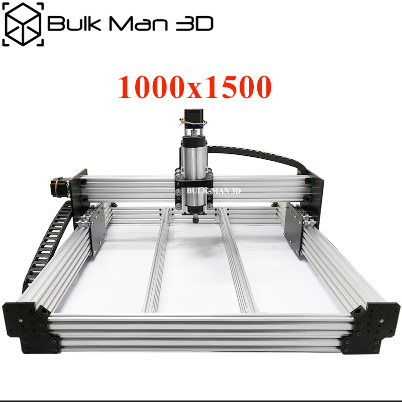WorkBee CNC Router Machine Complete Kit 1000x1500mm 4Axis Woodworking CNC Engraving Milling Machine DIY CNC Metal