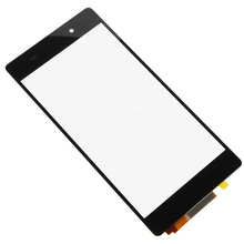 Super Deal 5pcs/lot Original New Black Touch Screen Digitizer For Sony Xperia Z2 L50W D6503 High Quality Touch Glass Digitizer