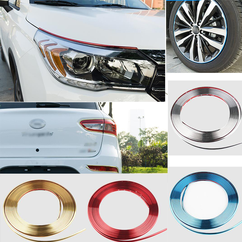 Car Styling Door Protection Strips Rubber Edge Doors Moldings Side Protector Sticker Scratches Vehicle For audi Auto 8Meters ...