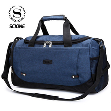 Scione Unisex Large Travel Luggage Bags Multi-function Duffe