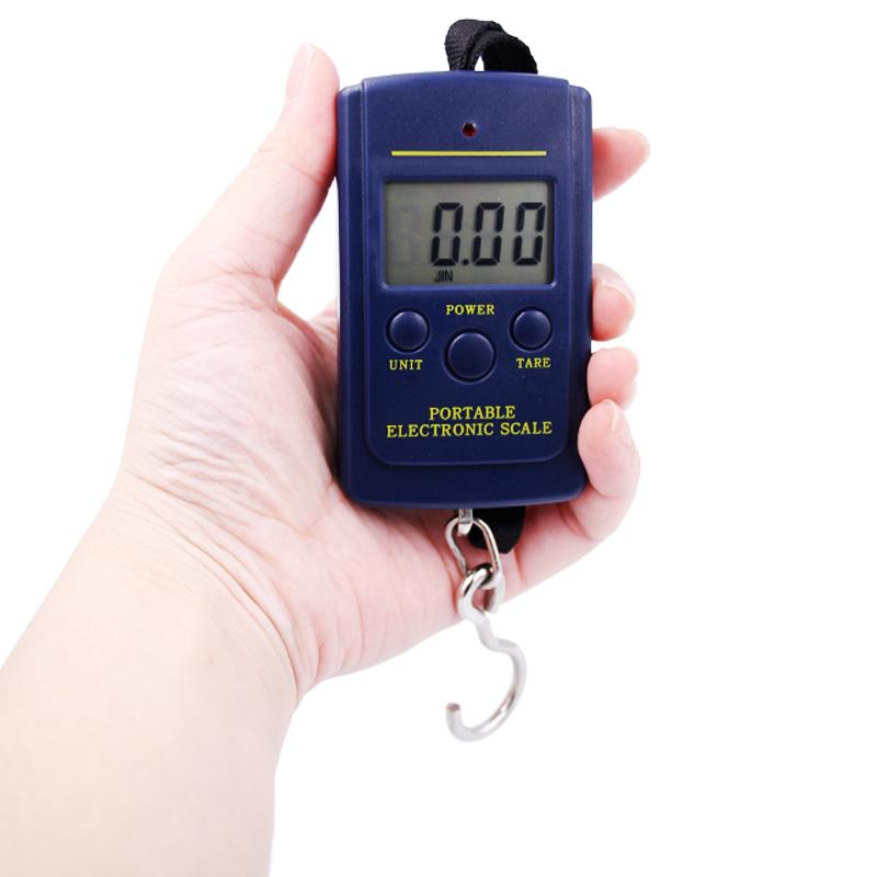 DHL, федерал ехпресс, ИБП 200 шт./лот 40 кг/10 г электронных цифровой висит рыбная ловля вес карман молния портативный малый мини-кухонные весы