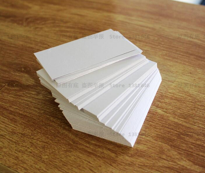 100 blank white index cards business card gift tag plain cardstock 100 blank white index cards business card gift tag plain cardstock paper 200gsm note pad 90 x 54mm in business cards from office school supplies on reheart Gallery