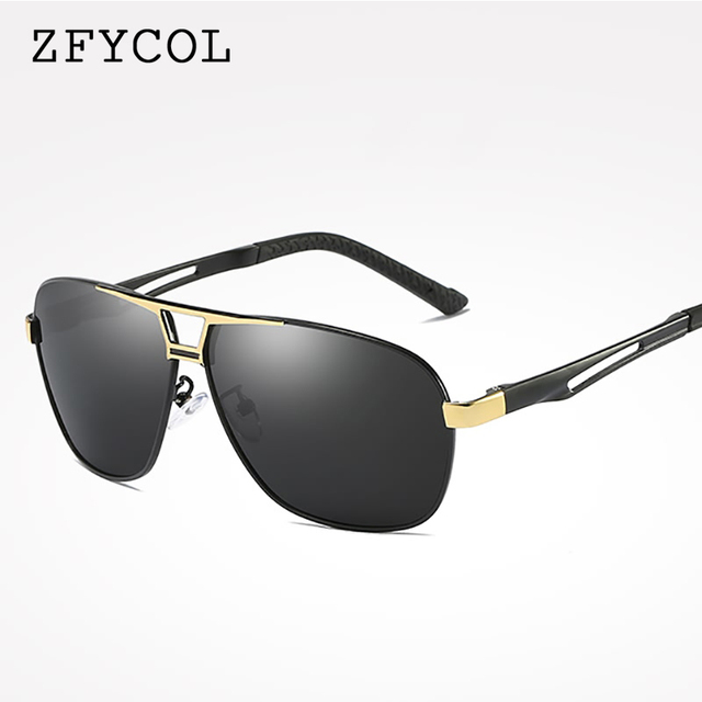 d530ab2921 ZYCOL Brand DESIGN Polarized Sunglasses Men 2018 New Design Driving Sun  Glasses Male Eyewear Oculos Gafas