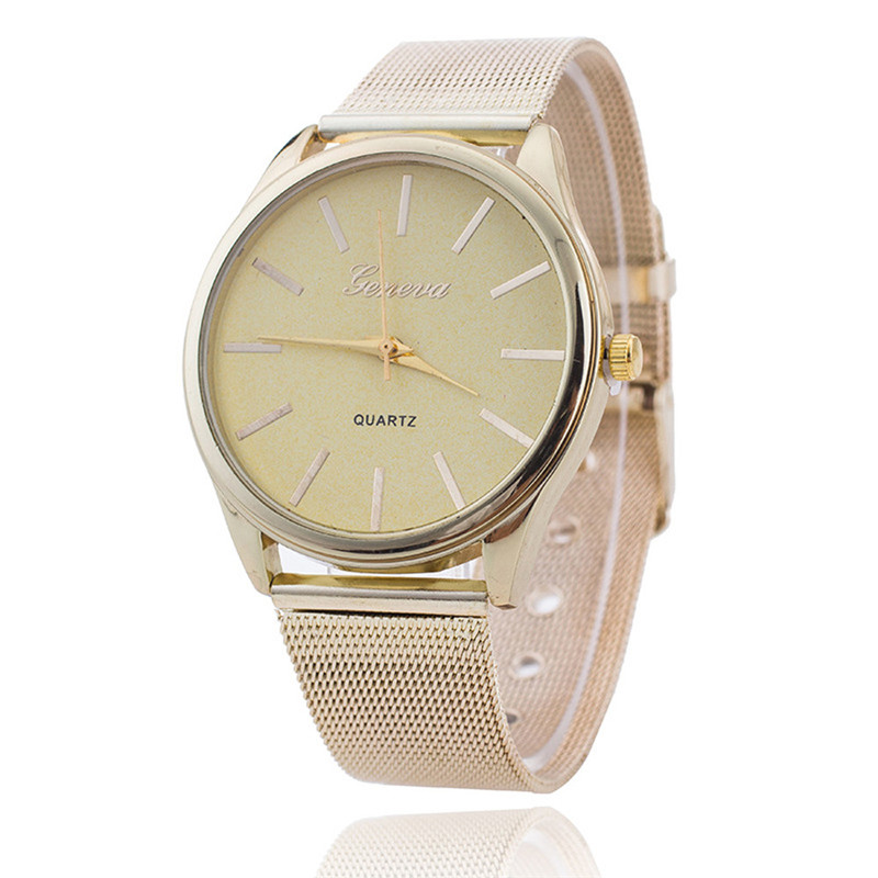 2016 Best Selling GENEVA Women Ladies Clock Crystal Gold Mesh Band Fashion Casual Wrist Watches Gift Montre Femme Wholesale best band шорты для мальчика be350129 коричневый best band