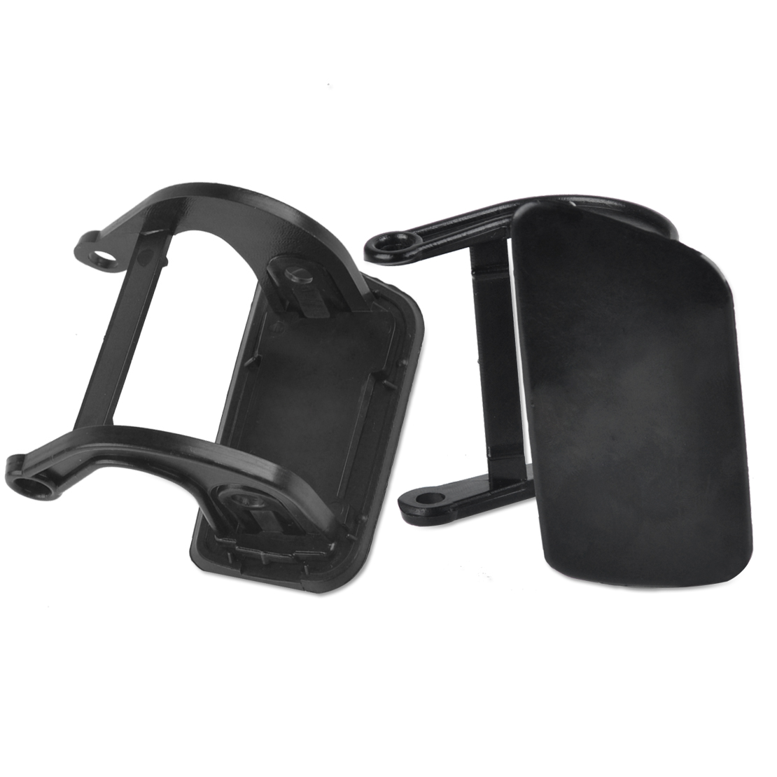 2x Headlight Washer Nozzle Cover Cap For BMW E60 E61 525i 528i 545i 550i 535xi