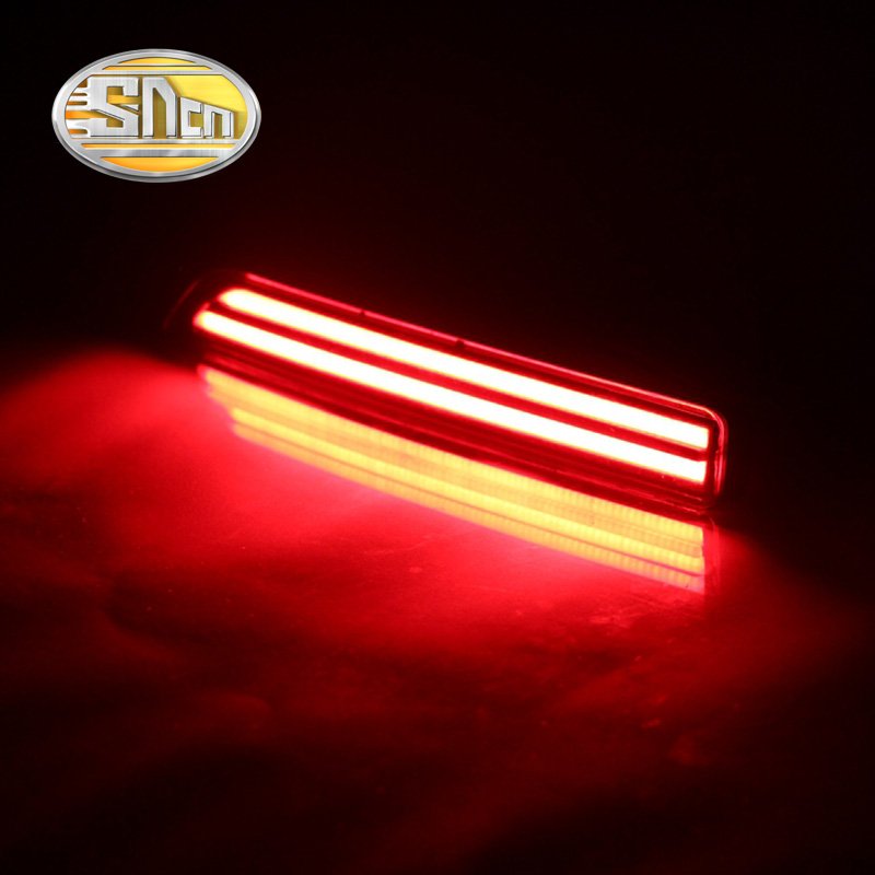 SNCN Multi-function LED Reflector Lamp Rear Fog Lamp Bumper Light Brake Light Turn Signal Light For Nissan Murano 2015 2016