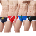 2016 Fashion Men's  High Quality Man Trunks Short Hot Sexy Fashion Man Beachwear Boxers