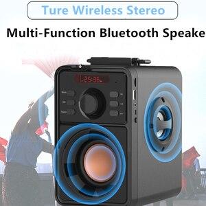 Image 5 - Abuzhen 3000mAh 2.1Stereo Subwoofer Bluetooth Speaker Portable Wireless TF FM USB Stereo Soundbar Heavy Bass Handsfree for Phone