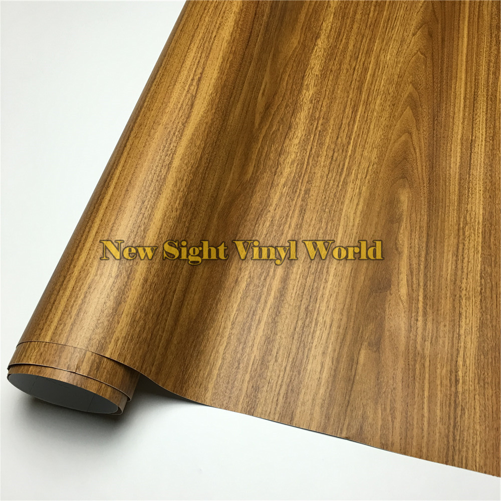 Ebony Wood Grain Self Adhesive Vinyl Film Pvc Wood Sticker