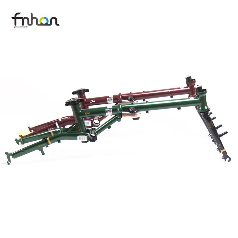 Fnhon Gust CR-MO Steel Folding Bike Frame Fork 16