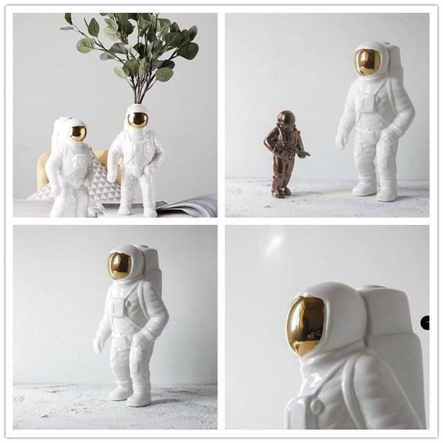 Astronaut Vase Ceramic