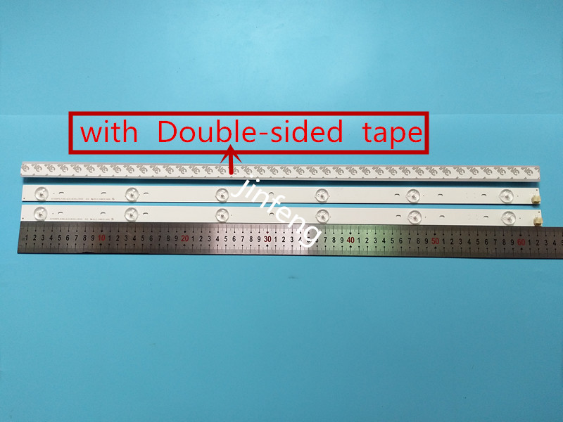Kit 15 PCS 6LEDs 627mm LED backlight strip for Toshiba 32 TV SVT320AF5 32P1300 32P1400 32P1400VT