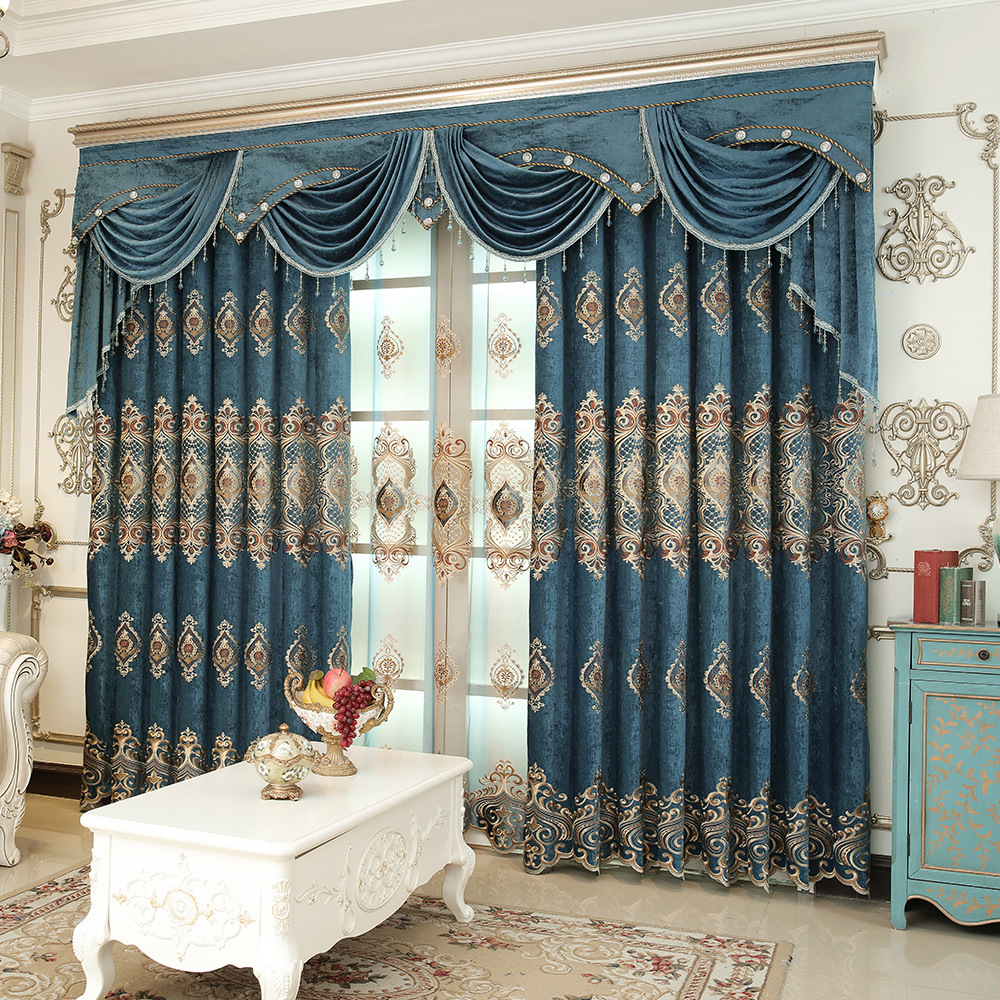 New Curtains For Living Dining Room Bedroom Rural Curtain