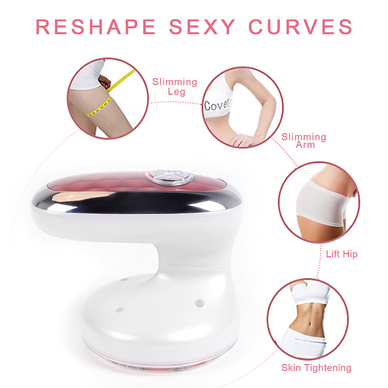 RF Cavitation Ultrasonic Slimming Massager Fat Burner Lipo Device Skin Tighten