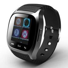 Heißer verkauf! neue Bluetooth Smart Uhr M26 Smartwatch Mit Zifferblatt/Alarm/Musik-player/Schrittzähler für Android IOS HTC Handy telefon