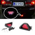 New car Motorcycle tail light Universal Brake Light Flash Strobe Lamp 12 LED Emergency Warning stop signal Lamp
