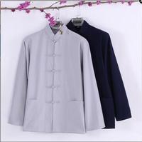 Plus Size XXXXL Long Sleeve Man Tang Suit Traditional Chinese Clothes Tang Suit Top Men Kung