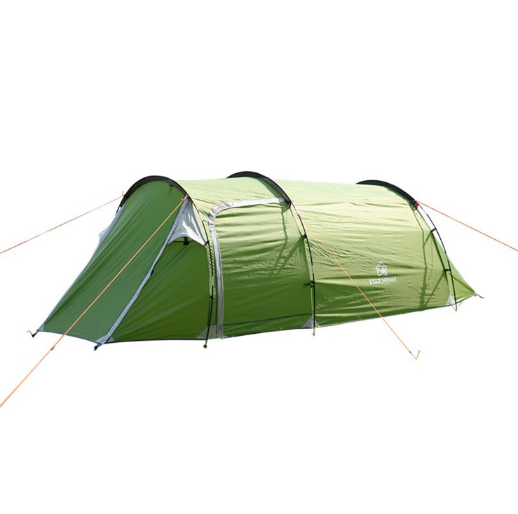 single bedroom apartment camping tent Tunnel tents 2-3 person outdoor 2 layer driving filed tent Canopy easy and convenient pyramid indian camping tent 3 5 person outdoor family yurt tent ultra light double layer driving filed tent fireproof material