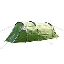 Unique chambre appartement camping tente Tunnel tentes 2-3 personne extérieure 2 couche driving déposées tente Canopy facile et pratique