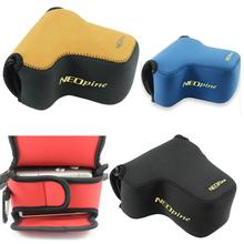 Neoprene Camera Bag case for SONY A6100 A6600 A6400 A6500 A6300 A6000 with 16-70 18-135 28-70 lens Ultra Light Case