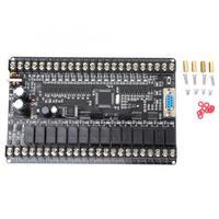 Industrial Programmable Control Board PLC FX1N 30MR 16 Input 14 Output Black Bare Board Industrial Control Board