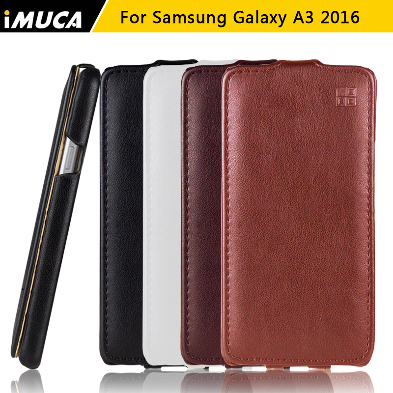 iMUCA Brand For Samsung Galaxy A3 2016 A310 A310F Case Flip Leather Phone Cases Cover For Samsung Galaxy A3 2016