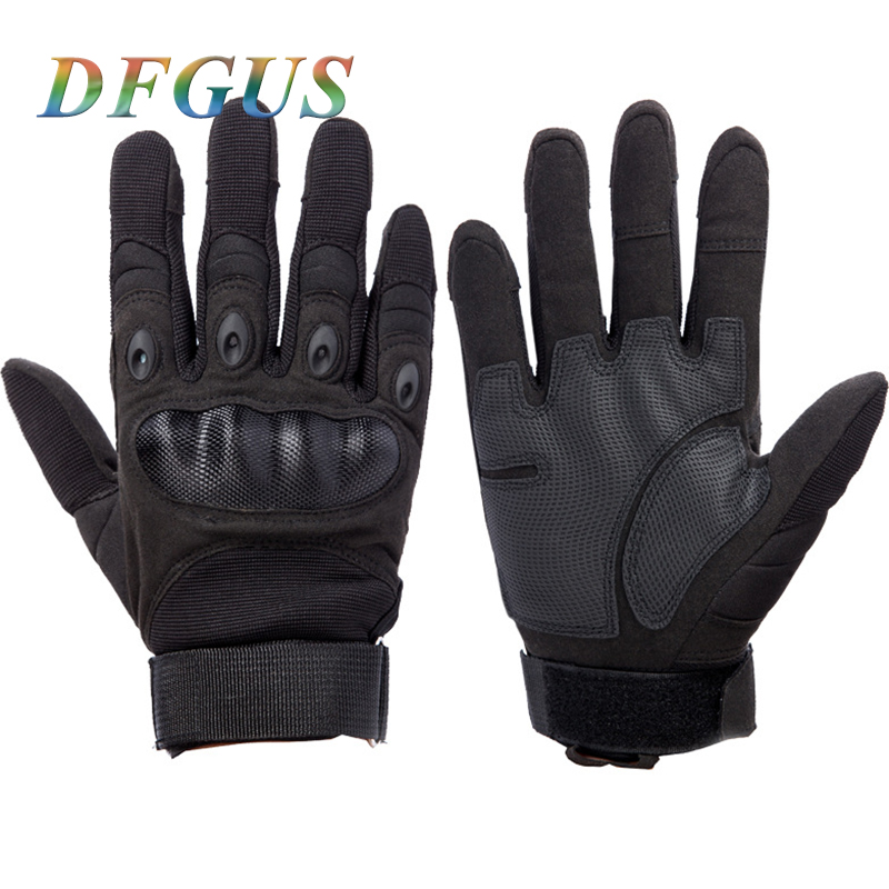 Men's Tactical Gloves Army Outdoor Sports Microfiber Fabric Eldiven Military Mittens Gloves For Male Fullfinger  Gloves