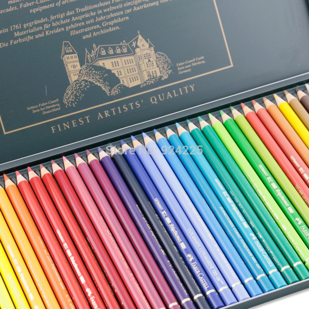Art colored pencils - The Sf 36 German Faber Castell Color Colored Pencil Artist Grade Top Oily Green Color Of Lead Tin From Reliable Pencil Grade Suppliers On Sunny Color Camp