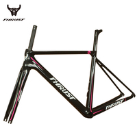 2017 THRUST Carbon Road Bike Frames Super Light Bicycles Carbon Road Frame BB86 Cycling Frameset Fast