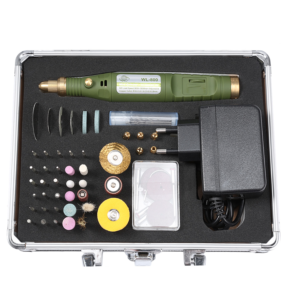 80 In 1 Multi-Functional Mini Electric Drill Polish Grinder Tool Grinding Grinder Set For Milling Polishing Drilling Engraving 211pcs electric mini die grinder engraving machine set eu plug milling polishing drilling metal jewelry restoration wood process
