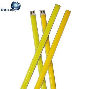 Image 3 - 10PCS 12v LED COB Streifen 200mm 300mm 400mm 500mm 600mm flexible Streifen Bar lichter Warm Weiß für auto Outdoor licht cob led rohre