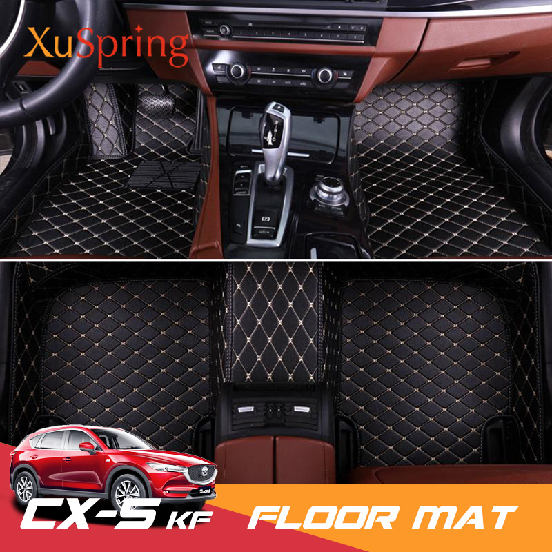 For Mazda CX 5 CX5 2017 2018 2019 KF LHD Car Floor Mat Pat Case Cover