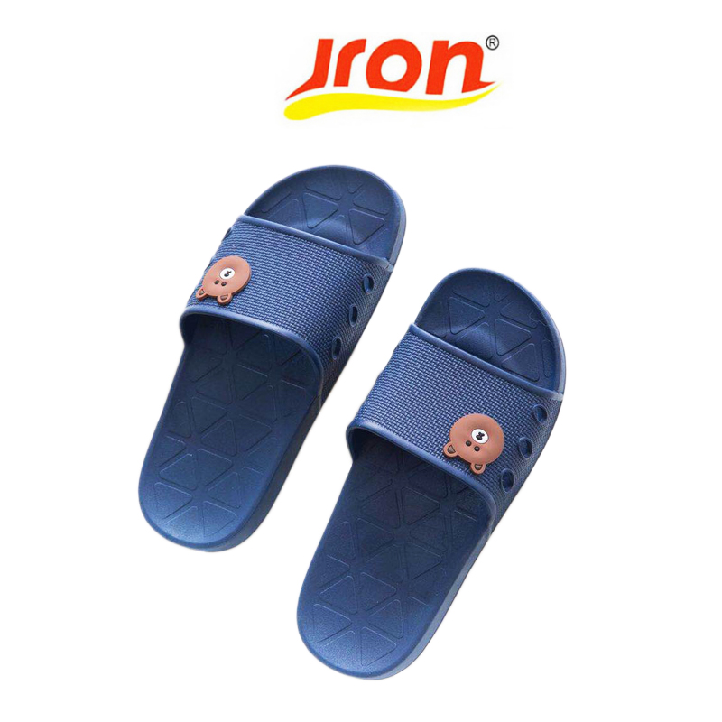 Summer New Women's Slippers Cute Line Friend Brown Bear Bunny Home Indoor Slippers Non-slip Soft Bottom Beach Slippers summer new women slippers cute fruit bathroom bunny home indoor slippers non slip soft bottom beach slippers