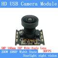PU'Aimetis 2MP 1080 P USB Kamera Modul 30FPS dynamische hintergrundbeleuchtung entschädigung 150wide-angle Mini Überwachungs kamera unterstützung audio