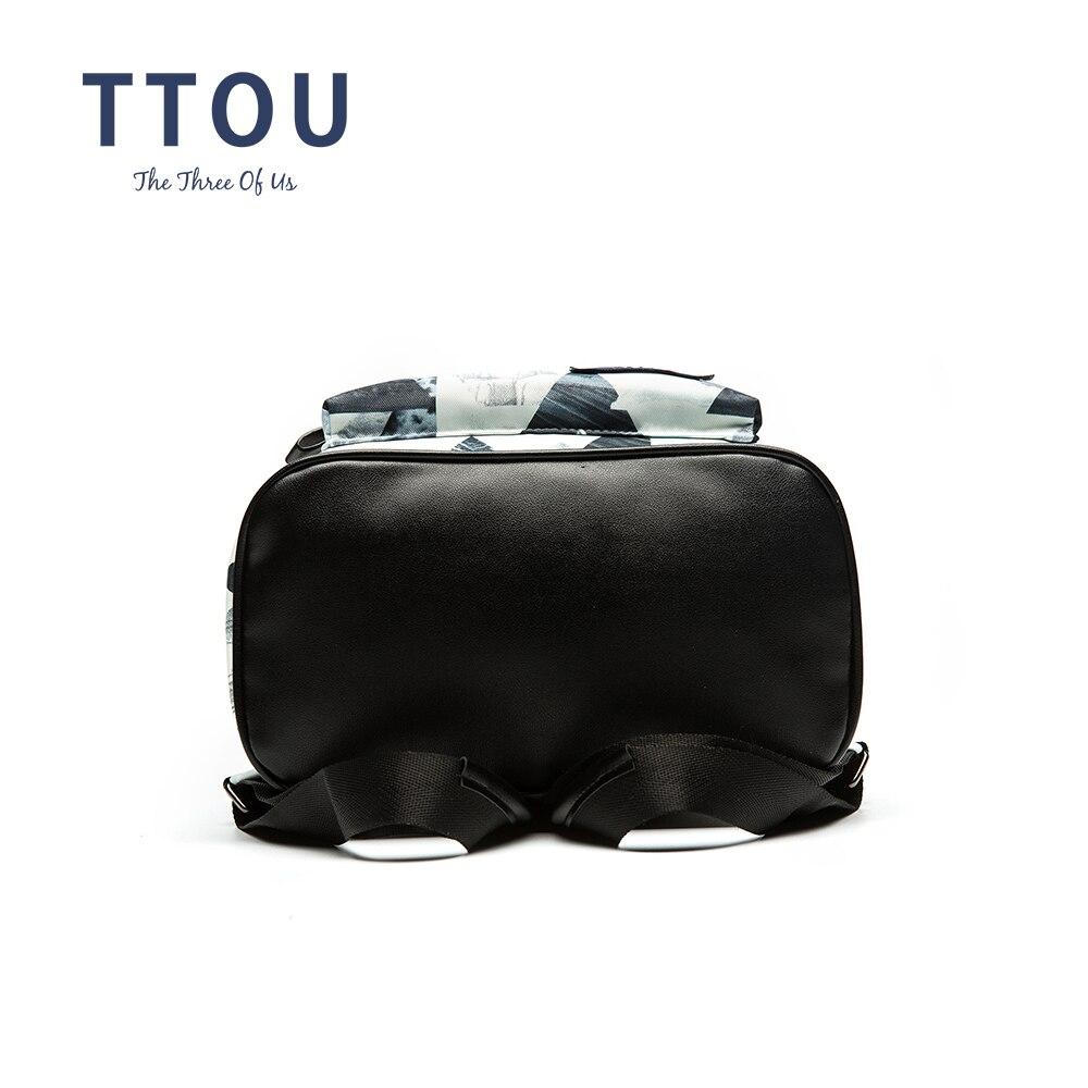 TTOU Dizajn Moda Geometrijski ispis Ruksak Tinejdžerski Djevojke - Ruksaci - Foto 5