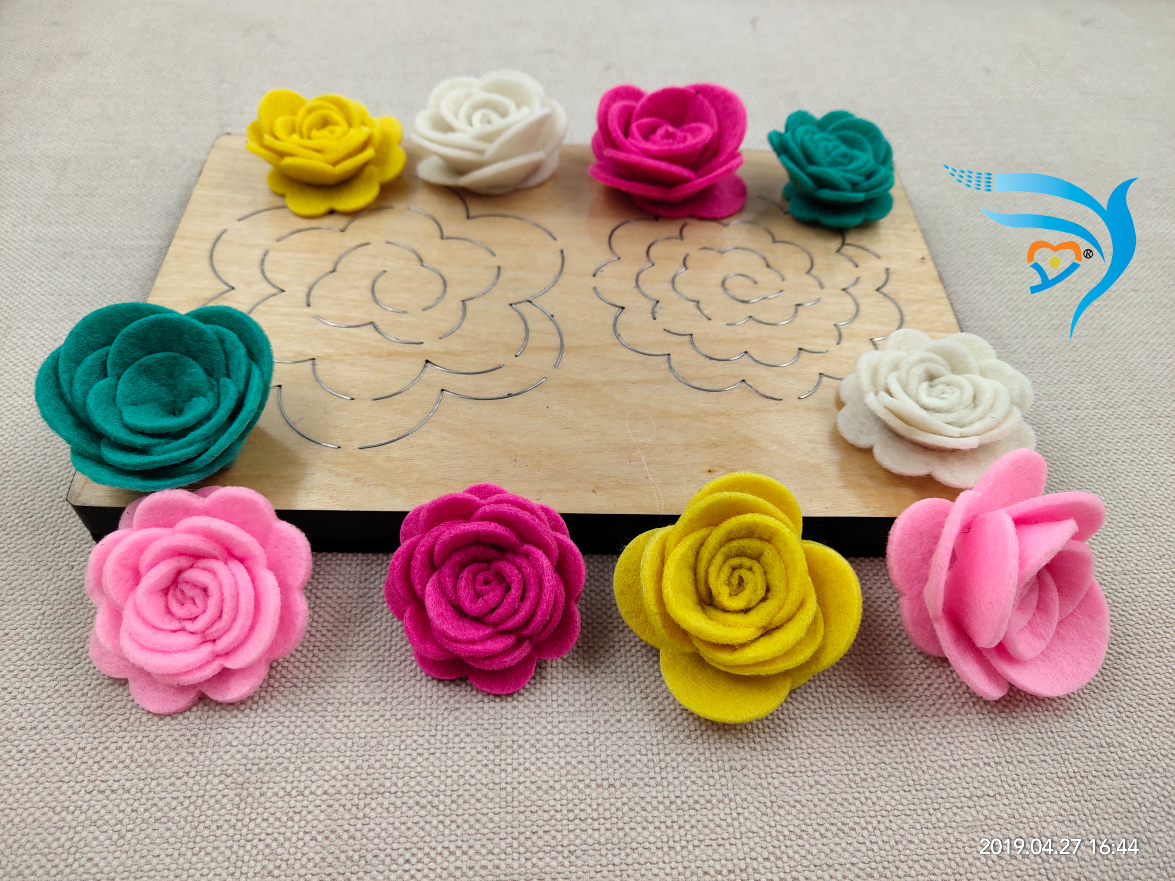Stereo flower muyu cutting die new wooden mould cutting dies for scrapbooking Thickness 15 8mm