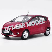 1:18 Alloy Pull Back Toy Vehicles FIESTA Sports Car Model Of Children's Toy Cars Original Authorized Authentic Kids Toys