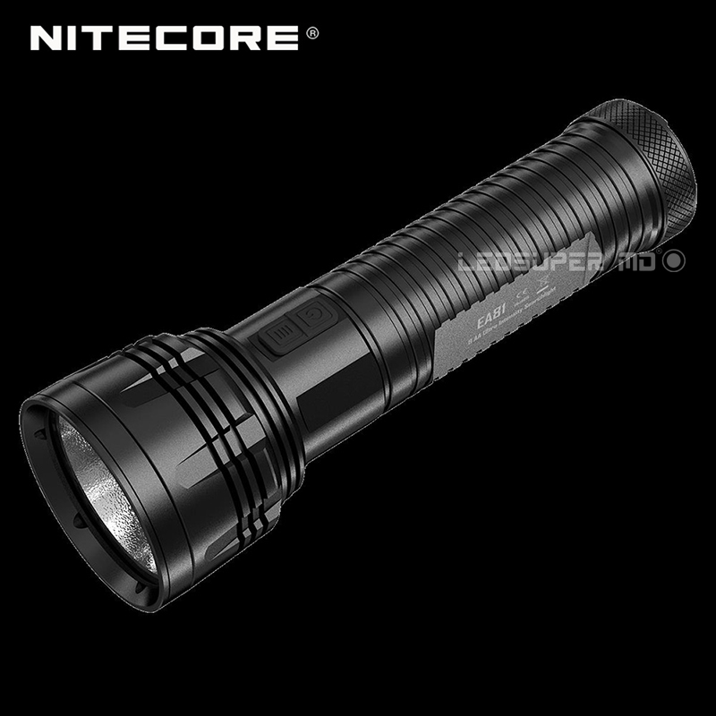 High Performance NITECORE EA81 2150 Lumens XHP50 LED Portable Outdoor Searchlight Flashlight Powered by 8 AA Batteries-in Flashlights & Torches from Lights & Lighting    1