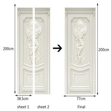 3D Wallpaper European Style Embossed Flowers